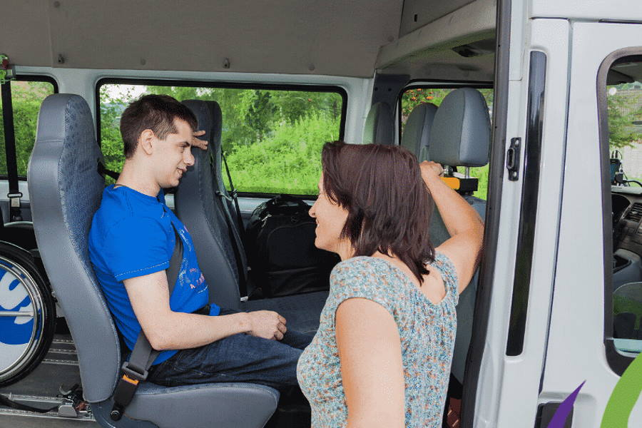 disability transport with selacare
